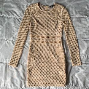 Carli Bybel x Missguided Long Sleeve Dress